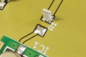 SMD resistor tombstoning