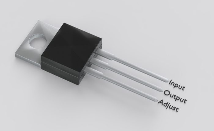 LM317T datasheet and footprint
