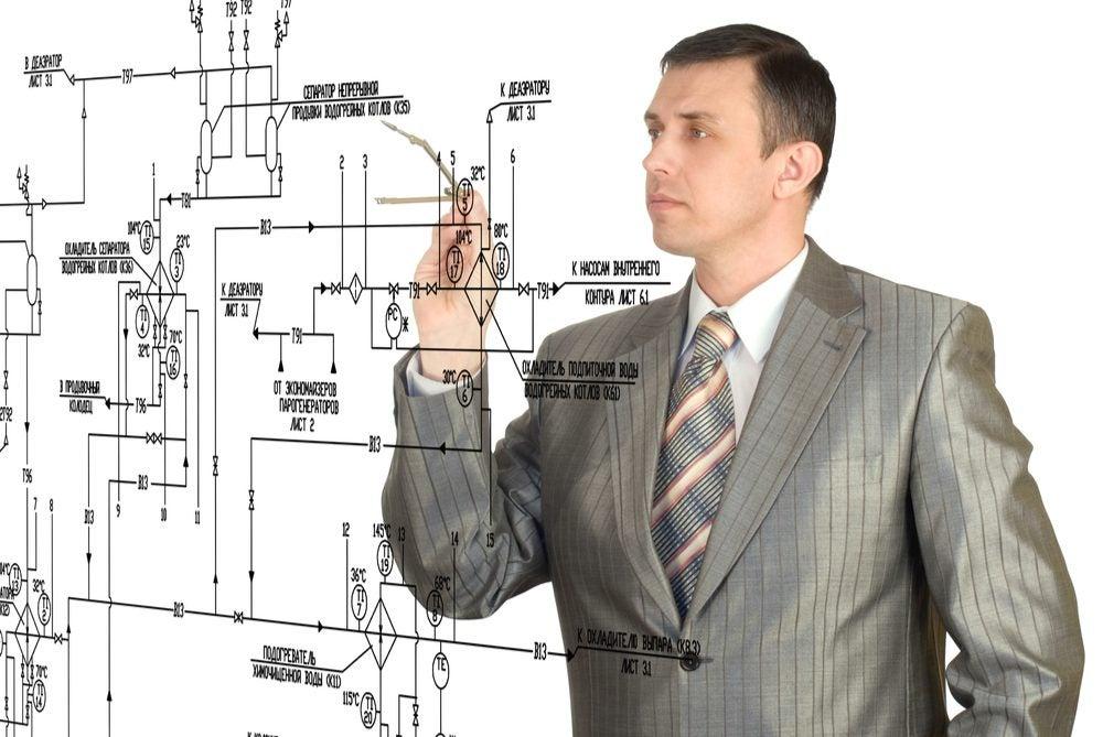 A designer building a circuit