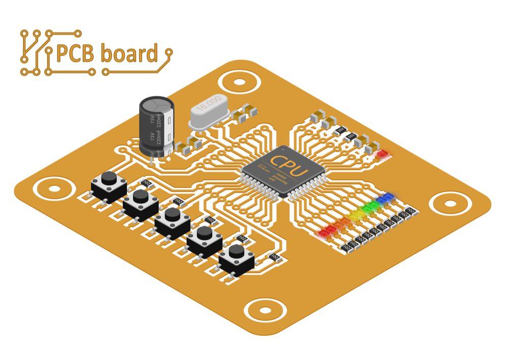 PCB board.