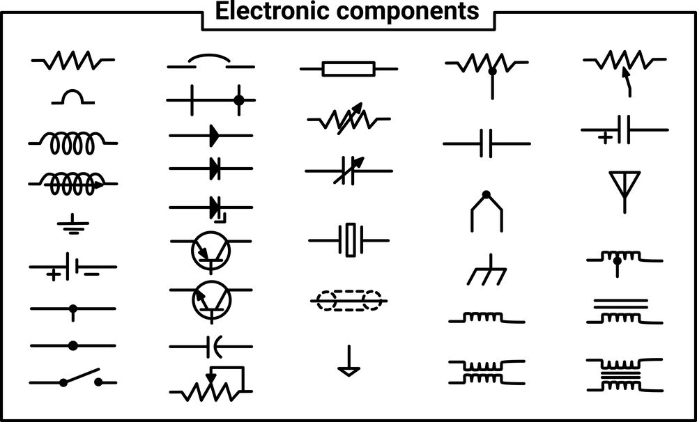 Schematic Symbols, Electronic Wiring Schematic Symbol
