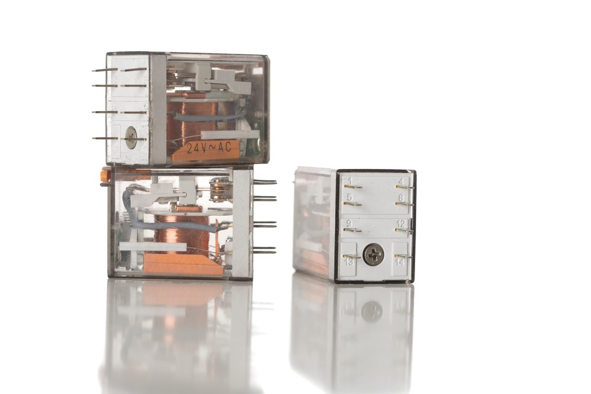 Electrical control relays