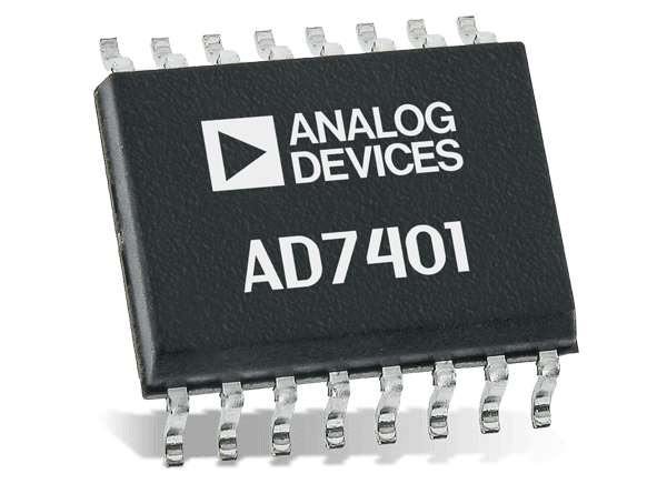 Standard SOIC package for the AD7401AYRWZ