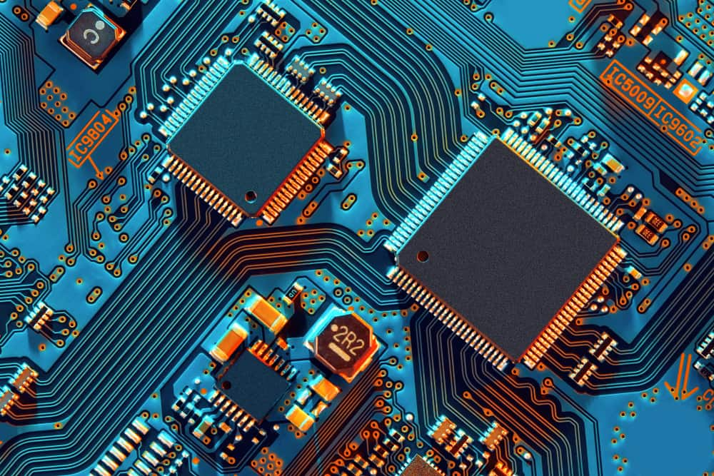 PCB with component codes
