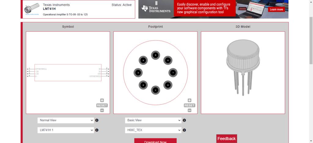 CAD model diagrams for a popular component