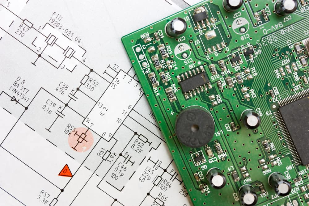 Circuit board and its PCB diagram